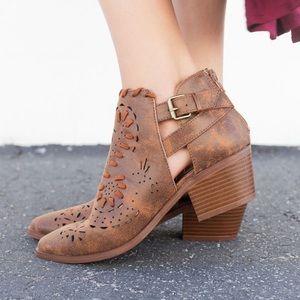 🆕Savannah Western Ankle Booties